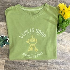 "Life Is Good ""Do What You Like"" Graphic Tee"